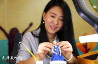 JBO体育面塑艺术家刘芳为中小学美术教师讲授面塑技艺