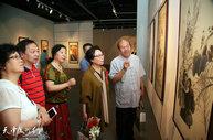 天津湖社会员作品在津整体亮相 展示百年湖社艺术风采