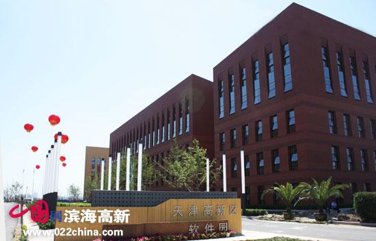 """滨海高新区以建设国际一流的""""国家软件与服务外包产业基地"""""""