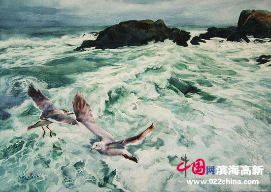 天津著名水彩画家杜晓光作品