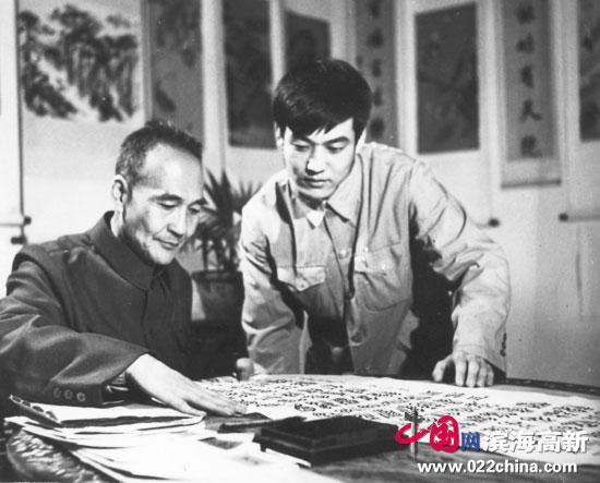 著名书法家、香港书法协会副主席王冠峰做客中国网・滨海高新