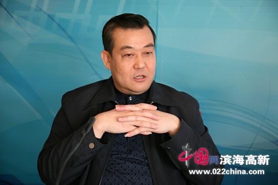 著名书法家、香港书法家协会副主席王冠峰做客中国网·滨海高新