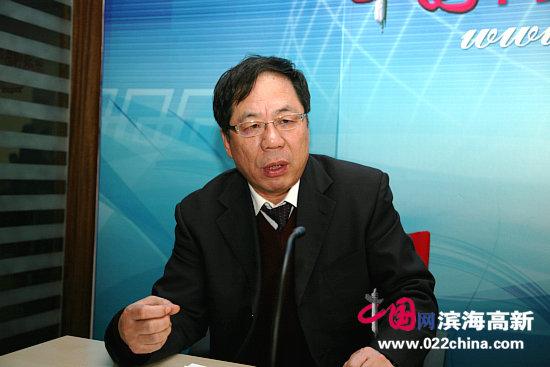天津画院党组书记陈英杰做客中国网・滨海高新