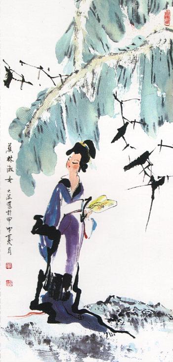 天津书画名家叶大海做客中国网·滨海高新访谈实录图片