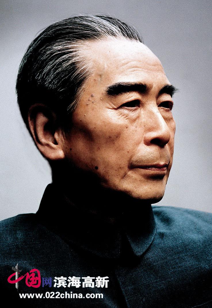 天津美术学院副教授、工艺美术大师艾得胜蜡像作品:周恩来像