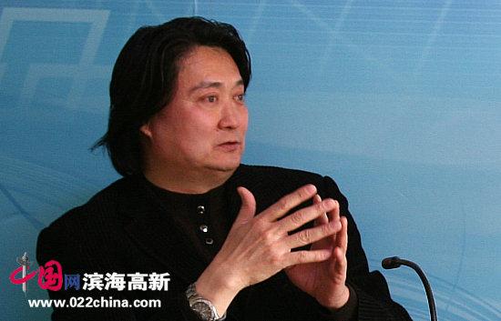 南开大学文学院艺术设计系教授、系主任薛义做客中国网·滨海高新