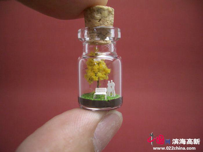 玻璃小瓶子 缤纷大世界