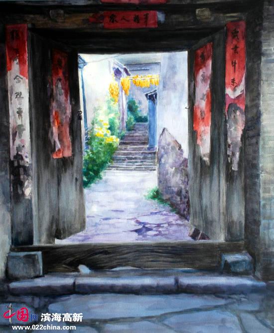 刘永吉作品:《年年岁岁》水彩
