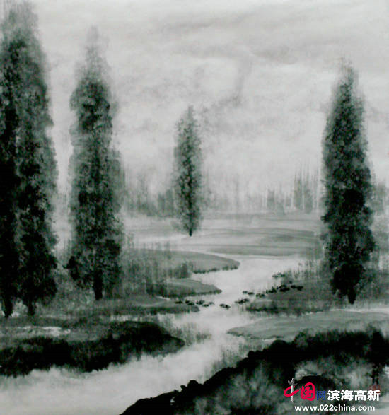 邓作列作品:华盛顿湖