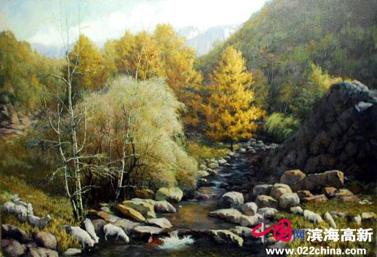 刘永吉作品《秋色》