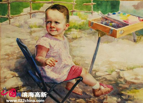 刘永吉作品《洋娃娃》