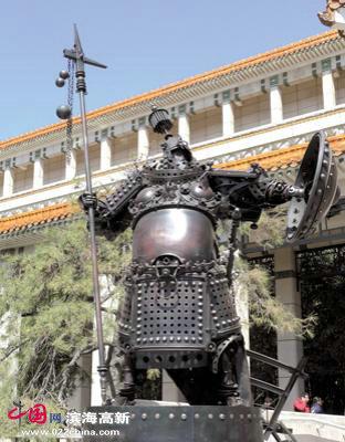 赵成民雕塑:将军