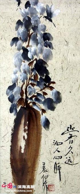 倪萍国画作品 - 林夕 - 林夕的博客