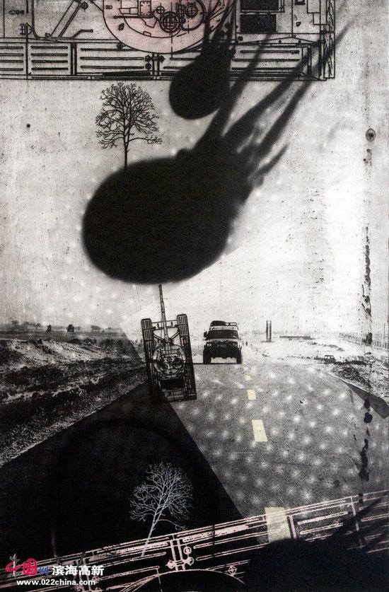 庞辛森作品:《残域闻香・车》