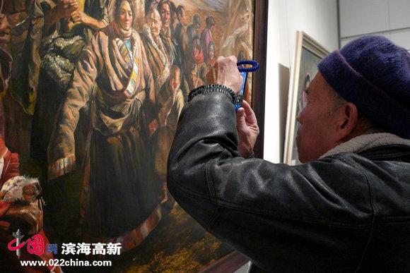 """""""天津市第四届油画双年展""""12月14日在天津美术馆开幕。"""