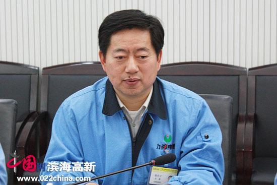天津力神电池公司总裁秦兴才。