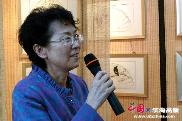 天津市红桥区政协副主席马平致词。