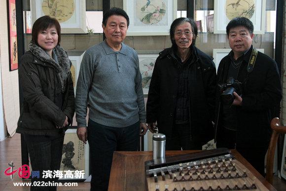 姚景卿、赵毅、李澜、收藏家张养峰