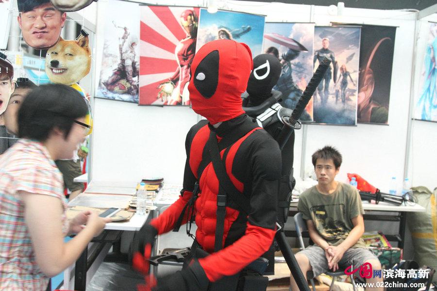 漫神漫画节上的cosplayer