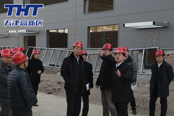 荣建勋带队调研未来科技城重点项目建设情况