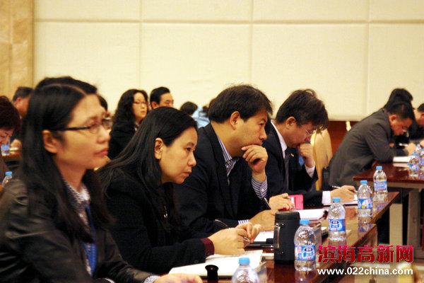 天津滨海高新区召开2015年工作会议