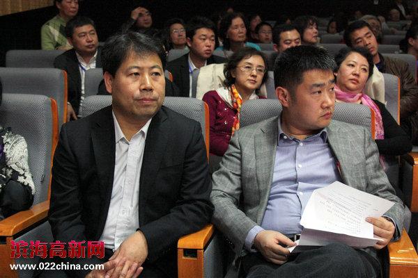 大赛组委会秘书长、高新区工委宣传部部长王会臣在现场。
