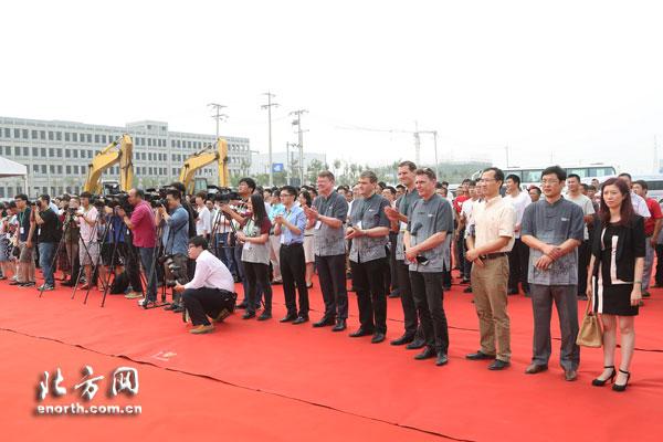 国能新能源汽车有限公司在天津高新区奠基落户高清图片