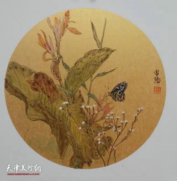 墨舞笔歌致青春-津门青年女画家作品展
