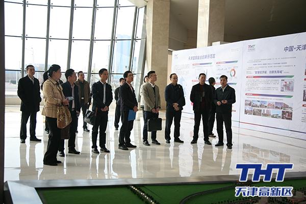 长沙高新区参观考察未来科技城