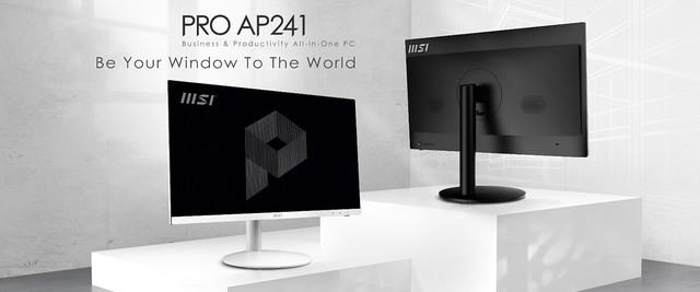 微星发布PRO AP241一体机 拥有眼睛护理技术